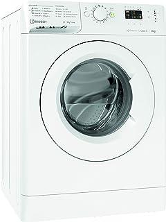 Indesit MTWA 91283 W IT Machine à laver à chargement frontal, 9 kg, A+++-10%, 1200 tours/min