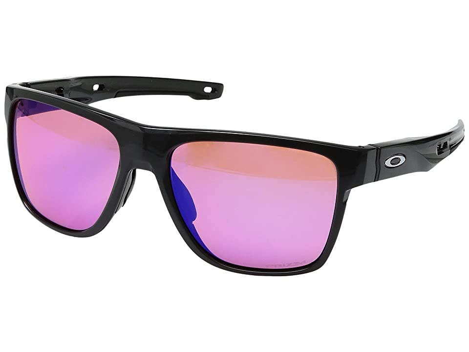 Oakley Crossrange XL (Carbon w/ Prizm Trail) Fashion Sunglasses