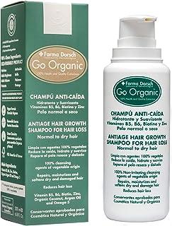 Farma Dorsch Go Organic Champú Anti-Caída para Pelo Normal a Seco - 200 ml