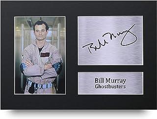 HWC Trading HWC Trading Bill Murray A4 Ungerahmt Signiert Gedruckt Autogramme Bild Druck-Fotoanzeige Geschenk Für Ghostbusters Filmfans