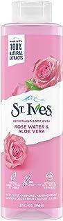 St. Ives Body Wash Rose Water & Aloe Vera certified cruelty-free by PETA 650 ml