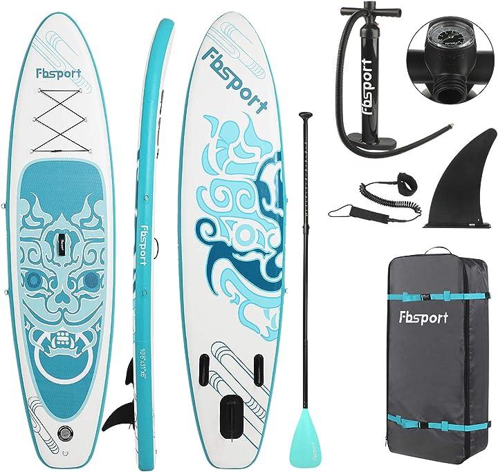 Tavola da sup, 300×76×15 cm / 320×78×15 cm sup board, stand up paddle board gonfiabile fb sport B08GPD5Z6S