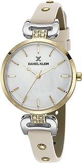 DANIEL KLEIN Premium Alloy Case Genuine Leather Band Ladies Wrist Watch - DK.1.12445-4
