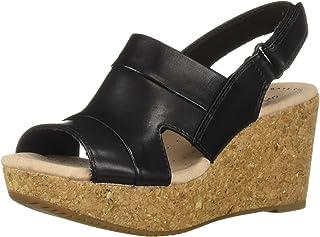 9c538c50eea CLARKS Women s Annadel Ivory Wedge Sandal