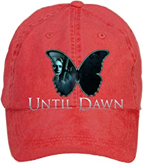 Tommery Unisex Until Dawn Horror Game Butterfly Effect Hip Hop Baseball Caps