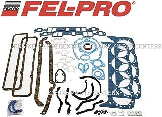 Fel Pro 260-1000 Small Block Chevy Overhaul Gasket Kit 55-79 283 327 350 SBC (Stock Gskt set)
