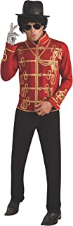 Costume Co. Men's Michael Jackson Value Red Military Costume Jacket