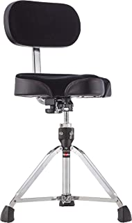 Gibraltar 9608MB Bike Seat Style Large Cordura Drum Throne with Backrest