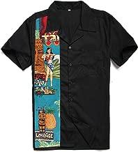 Candow Look Charley Harper Inspired Design Pattern Print Men Shirt ST110FE