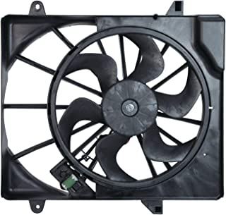 TYC 621690 Dodge Nitro Replacement Radiator/Condenser Cooling Fan Assembly