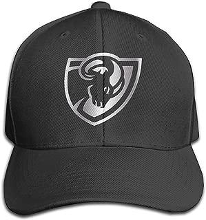 VCU Rams Platinum Logo Unisex Baseball Cap Black