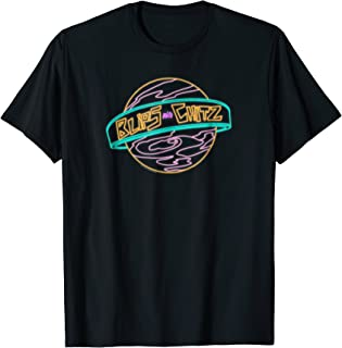 Rick & Morty Blips And Chitz Neon Logo T-shirt