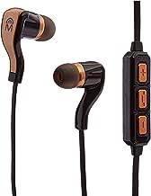 Mental Beat Bluetooth Flex Sports Earbuds - Black/Gold