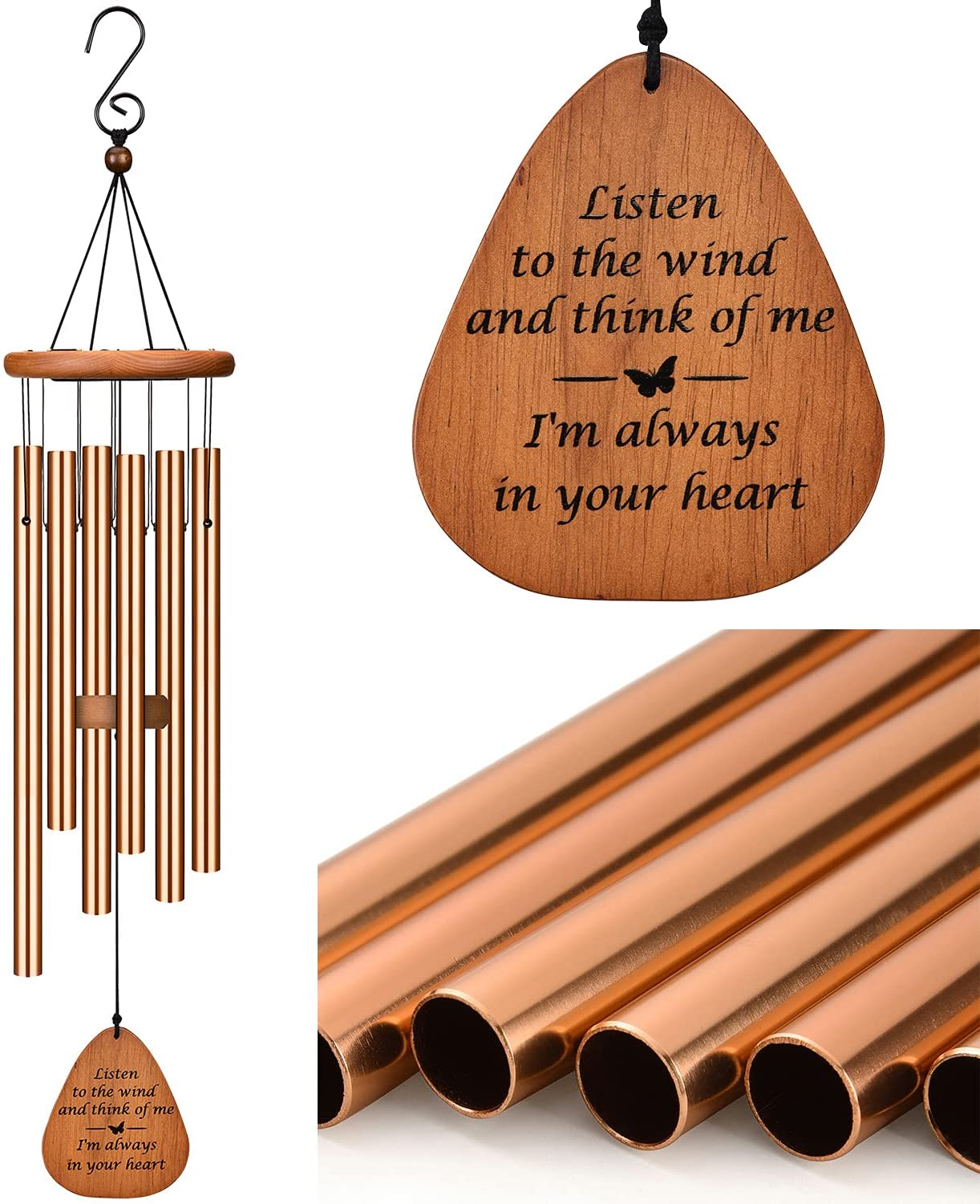 Sale item AMBOBE Sympathy Wind Chimes Memorial of Lo for Loss Ranking TOP8