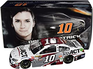 AUTOGRAPHED 2015 Danica Patrick #10 Tax Act Racing (Stewart-Haas Chevrolet Team) Sprint Cup Series Signed Lionel 1/24 NASCAR Diecast Car with COA (#426 of only 661 produced!)
