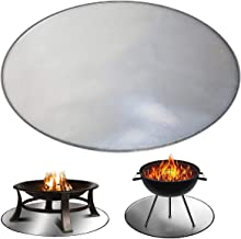 neversaynever Fire Pit Mat Grill Mat Pad Fireproof Under Grill Mat Protector for Outdoor Patio Wood Burning/& Gas Fire Pits Pad Deck /& Grass BBQ Protector