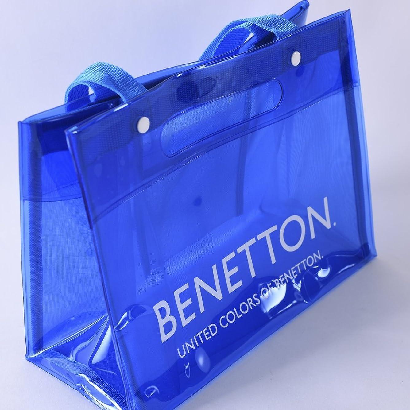 バンド下る共感するBENETTON(ベネトン)PVC&メッシュ2WAYバッグ 225-156