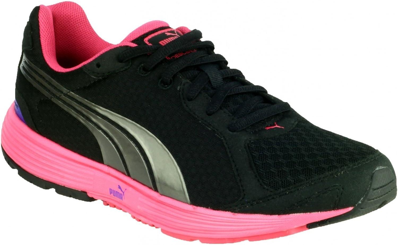 Puma Womens Descendent Ladies Trainer Black Pink Size UK 3 EU 36