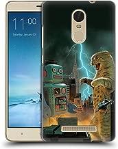 Official Vincent HIE Catzilla VS Robot Felidae Hard Back Case Compatible for Xiaomi Redmi Note 3 / Pro