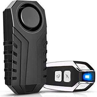 Onvian Bike Alarm with Remote, Upgraded Anti-Theft Vibration Security Motion Sensor Alarm for Bicycle Motorcycle Car, IP55...