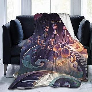"HADIHADI 60""x50"" Fans Design neotheater Style Flannel Fleece Blanket Super Soft Warm Cozy Lightweight Easy Care All Season Premium Bed Blanket"