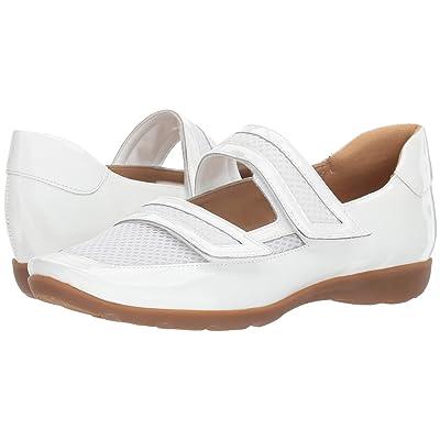 4bc3e7af18796 Sesto Meucci Gyan (White Patent) Women's Shoes