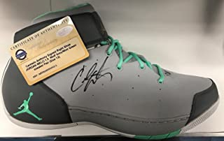 c14cf887d7d1 Carmelo Anthony Knicks Signed Jordan Melo 1.5 Sneaker Pair Size 13 Auto -  Steiner Sports Certified