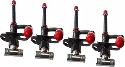 Mover Parts 4PCS Fuel Injector RE38087 RE36939 for John Deere 6200 6300 6400 7200 7400 7500 444G 624G 344G 544G 790ELC 490E 3029D 4039D 4045D 6059D 6068D