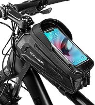 ROCKBROS Fietsframetas, Stuurtas, Waterdichte Gsm-tas met TPU-gevoelig Touchscreen voor Smartphones tot 6,8 inch Mountainb...