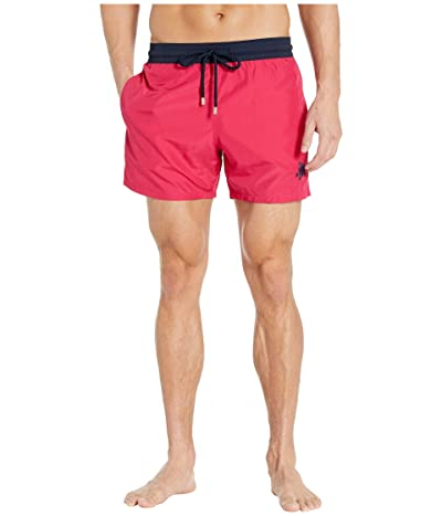 Vilebrequin Unis Bicolor Light Fabric Moxe Swim Trunks (Grosielle) Men
