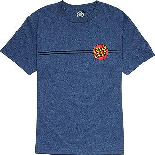 Santa Cruz Classic Dot T-Shirt - Short-Sleeve - Men's Denim Heather, XL