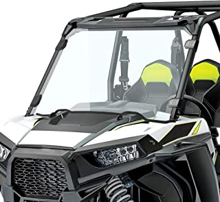 kemimoto RZR 1000 Windshield, 1/4 Thick Shock Resistance PMMA Full Windshield Compatible with Polaris RZR 1000 XP & 900S 2014 2015 2016 2017 2018