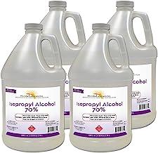 Isopropyl Alcohol Grade 70% - Rubbing Alcohol - 4 Gallon