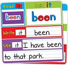 Read It Build It Write It Dry Erase and Magnetic Set
