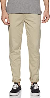 Amazon Brand - House & Shields Men's Chino Regular Casual Trousers