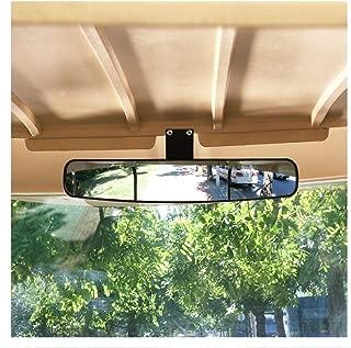 10L0L New Golf Cart Rear View Mirror, 16.5