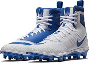 Nike Men's Force Savage Varsity Football Cleats (11, White/Game Royal-Game Royal)