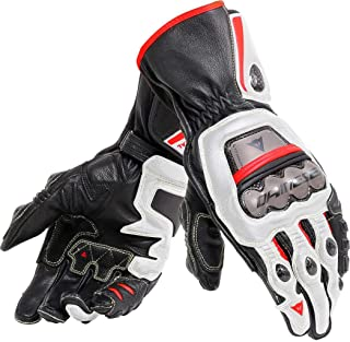 Dainese Full Metal 6 Gloves (X-Large) (Black/White/Lava RED)