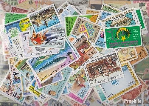 Mauritanie 200 différents Timbres (Timbres pour Les collectionneurs)