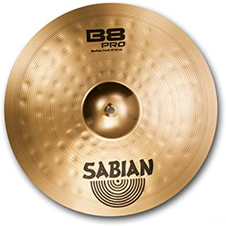 Sabian 18-Inch B8 Pro Medium Crash Cymbal