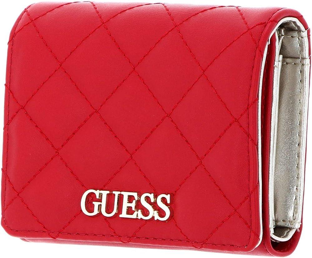 Guess,portafoglio per donna, in pelle sintetica SWVG79-70430-RED