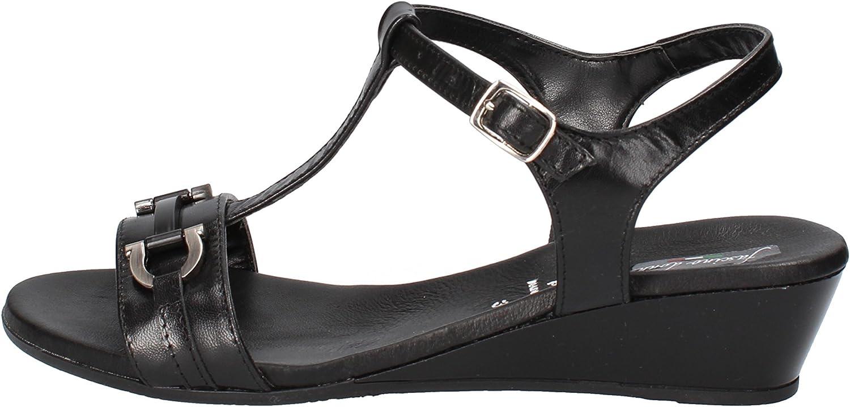 FASCINO women Sandals Womens Leather Black