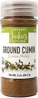 Jackie's Kitchen Ground Cumin, 2 Ounce
