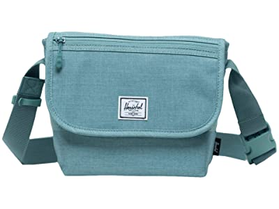 Herschel Supply Co. Grade Mini (Oil Blue Crosshatch) Messenger Bags