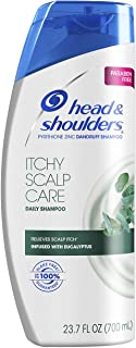 Head & Shoulders Itchy Scalp Care with Eucalyptus Anti-Dandruff Shampoo 23.7 Fl Oz (Pack of 4)