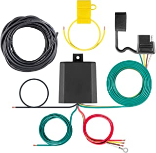 CURT 59236 Weather-Resistant Multi-Function Splice-in Trailer Tail Light Converter Kit, 4-Pin Wiring Harness