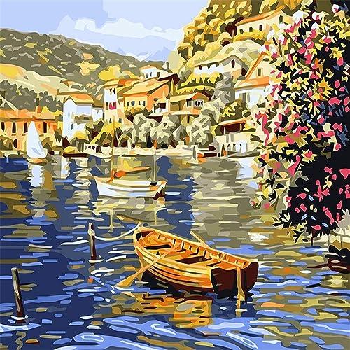 80% de descuento Auto-Completo Pintura Pintura Pintura Digital Sin Marco Digital Venice City 40  50Cm Pintura Materias Primas  la mejor selección de