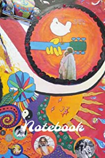 Notebook: Hippy Homework Book Notepad Notebook Composition and Journal Diary