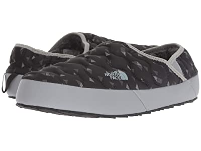 The North Face ThermoBalltm Traction Mule IV (TNF Black Triangle Weave Print/Griffin Grey) Men