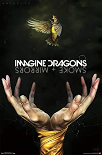 Trends International Imagine Dragons-Smoke Clip Bundle Wall Poster, 22.375